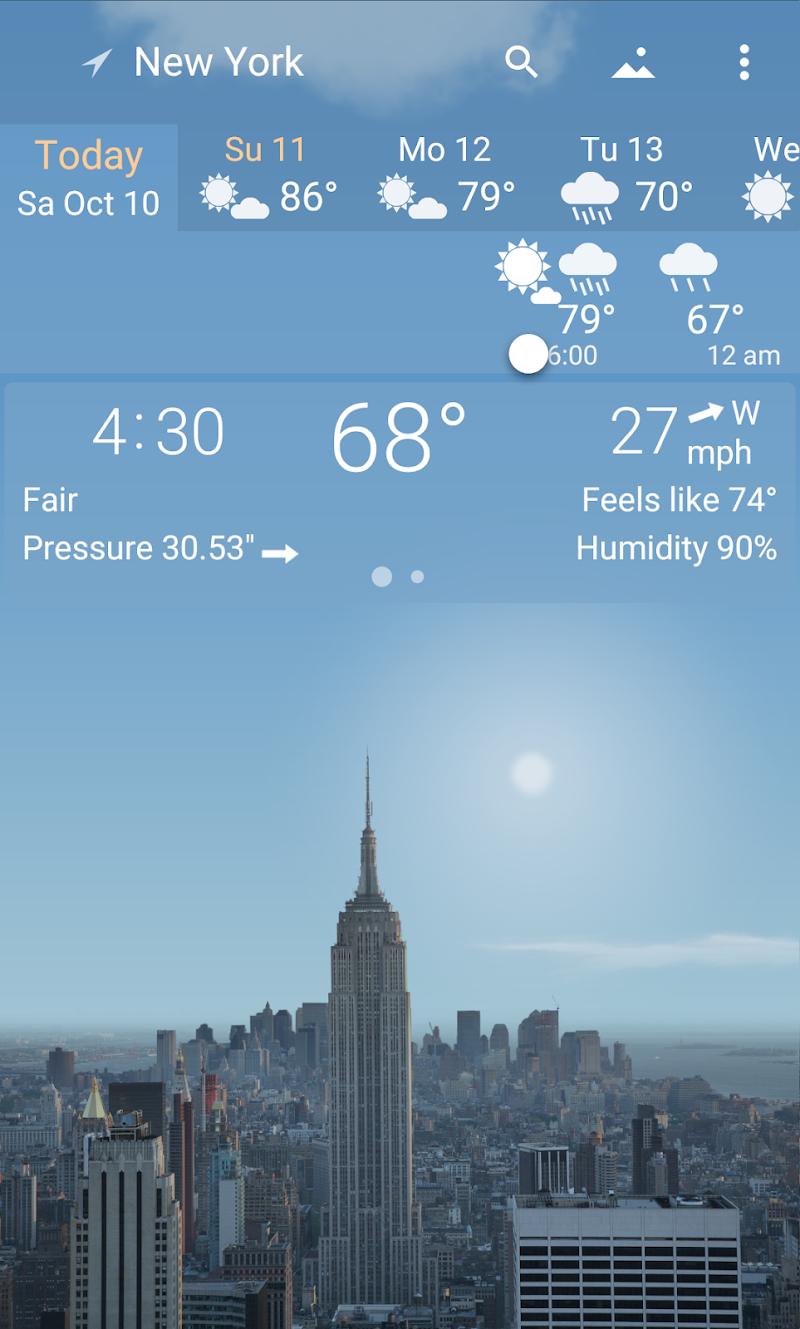 YoWindow Weather Screenshot 0