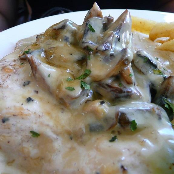 Slow Cooker Creamy Chicken Parisienne Recipe | Yummly