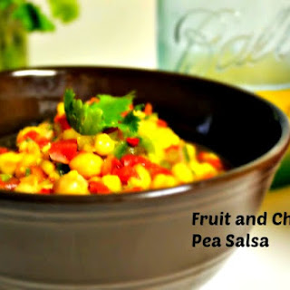 Fruit Salsa with Chickpeas.