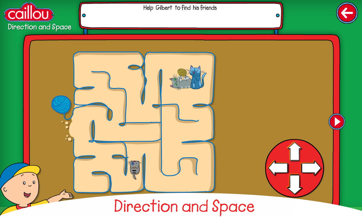 Caillou learning for kids- screenshot