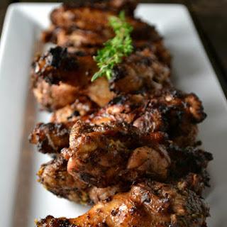 Caribbean Jerk Chicken Wings.