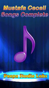Mustafa Ceceli Songs Complete - náhled