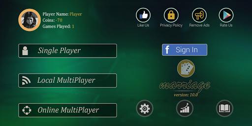 Code Triche Marriage Card Game APK MOD (Astuce) screenshots 1