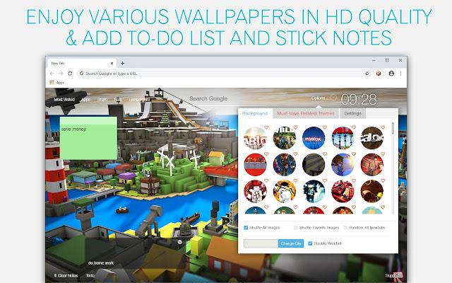 Home Screen Wallpaper Roblox Pink Logo Roblox Wallpapers Hd New Tab By Freeaddon Com