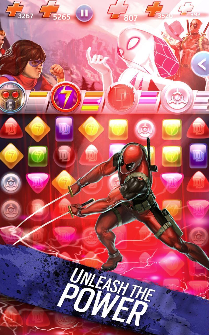 Marvel Puzzle Quest screenshot #17