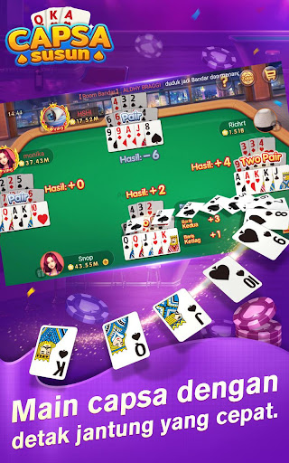 Capsa Susun Online:Poker Free screenshots 4