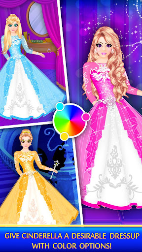 Cinderella Beauty Makeover : Princess Salon 1.8 screenshots 8