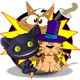naughty cats icon