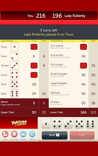 YAHTZEE® With Buddies - Fun Family Dice Game screenshot 12