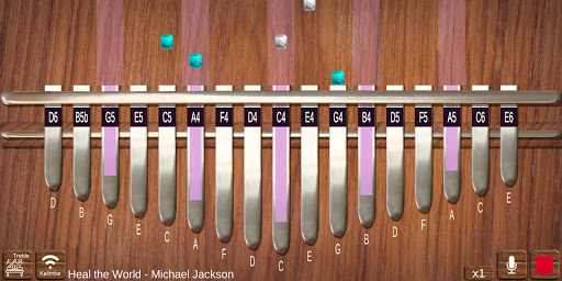 Kalimba Real screenshot 3