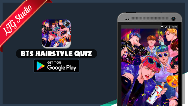 BTS Hairstyle Kpop Quiz Game