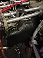 Photo: BID/RTV baffles lay down very nicely over very complex curves of the cylinder head.  I later trimmed them with a razor blade so the edges are nice and straight.