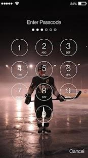 Ice Hockey Lock Screen - náhled