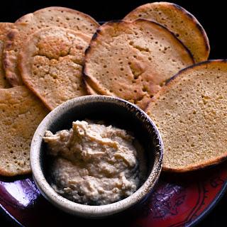 Mediterranean Chickpea Bread.