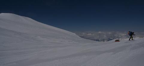 Photo: 5400 m. AINA peak on left.