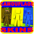 Camouflage PVP skins for MCPE