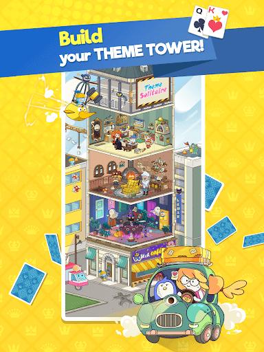Theme Solitaire - Tower TriPeaks screenshot 13