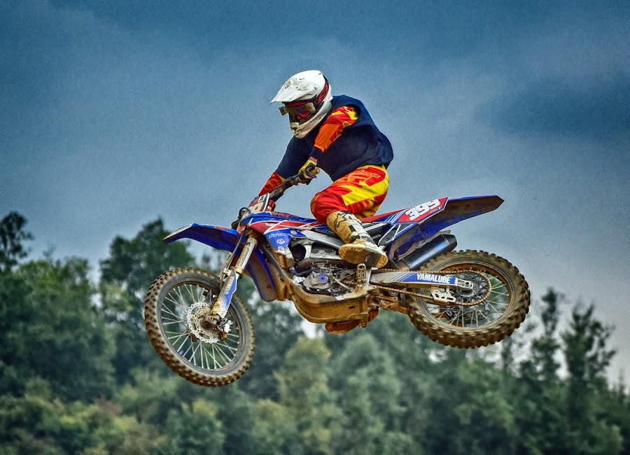 Yuppi Yeaahh ! by Marco Bertamé - Sports & Fitness Motorsports ( flying, motocross, speed, air, number, 399, high, race, noise, jump )