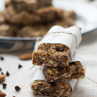 Chocolate Chip Cookie Energy Bars.