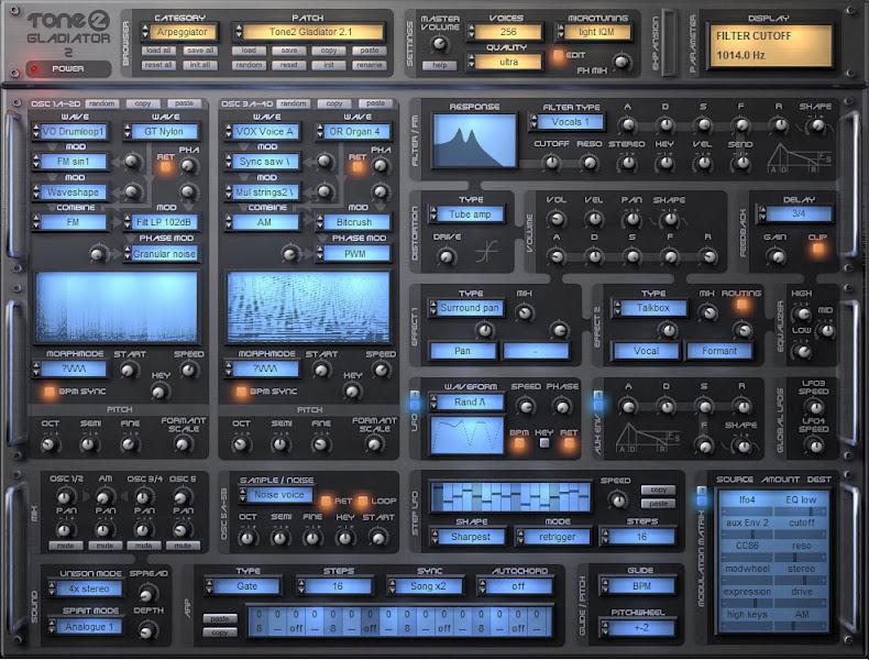 Photo: Gladiator 2 synthesizer