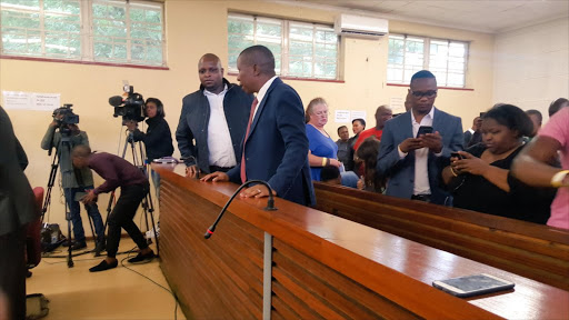 FILE PHOTO of Economic Freedom Fighters leader Julius Malema appearing in court.