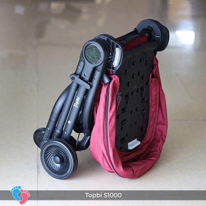 Xe đẩy cao cấp 2 chiều Topbi S1000 10