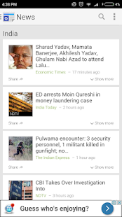 Top News India (English) - Updated LIVE - náhled