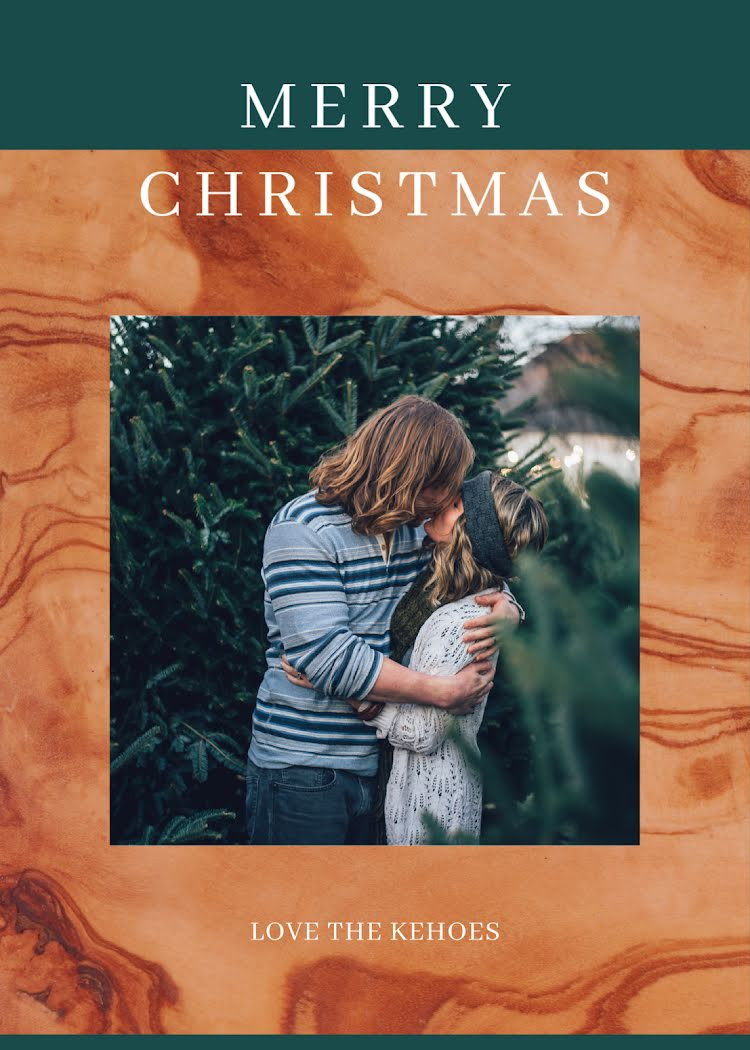 Greetings from the Kehoes - Christmas Card Template