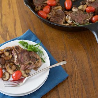 Herb Roasted Lamb Chops