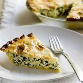 Spinach and Rice Pastry Pie.