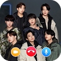BTS Video Call and live Chat ☎️ ☎️ BTS Messenger icon
