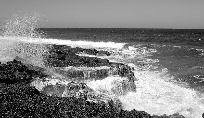 il mare in bianco e nero di ariosa