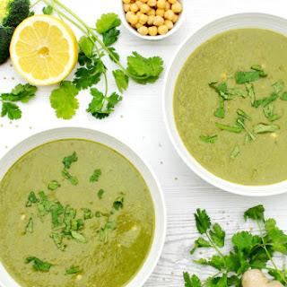 Warming Broccoli & Spinach Soup [vegan]