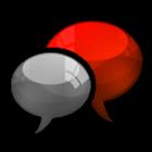 GO SMS Crimson Cobalt Theme icon