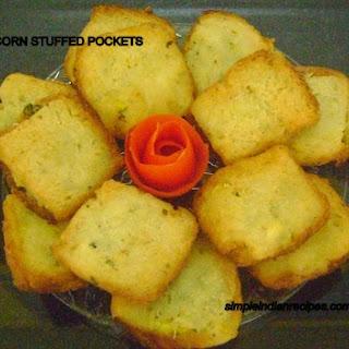 Corn Stuffed Pockets