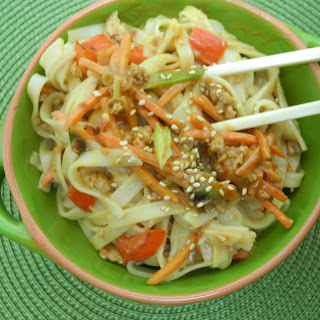 Asian Inspired Noodles.