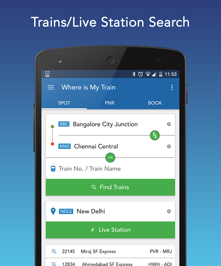 Where Is My Train Android Apps On Google Play
