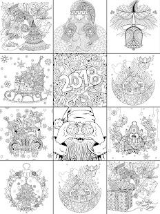 2018  Christmas Coloring Book Screenshot