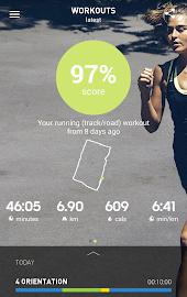 adidas train & run Screenshot 1