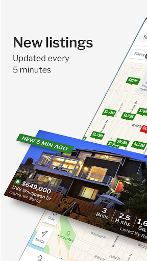Redfin Real Estate: Search Homes for Sale 311.2 screenshots 1