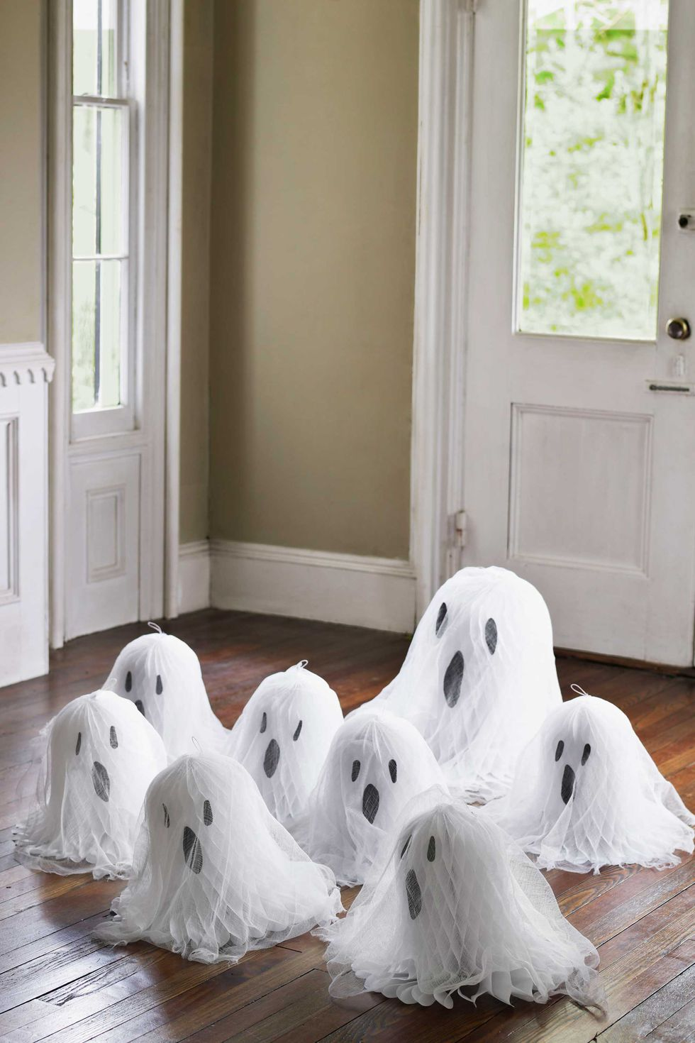 Tissue Paper Ghosts: These 30 DIY Halloween Decorations That Are Wickedly Creative will save you money and allow your creativity to flourish