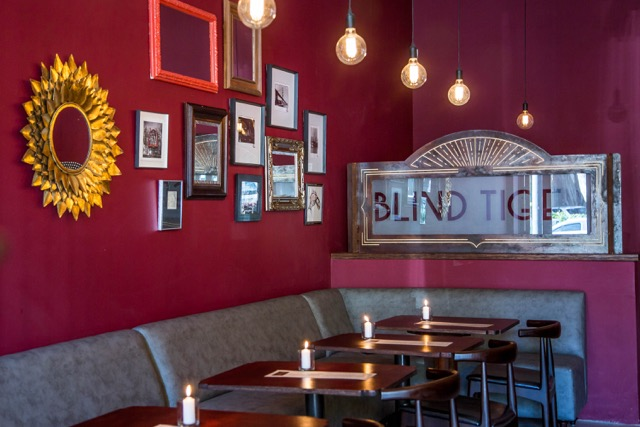 Sip on some giggle water at the Blind Tiger