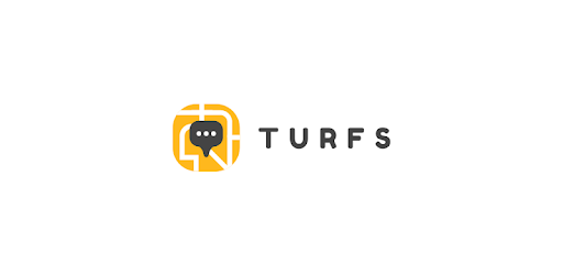 Turfs allows to chat with others around you to provide reviews and ask questions