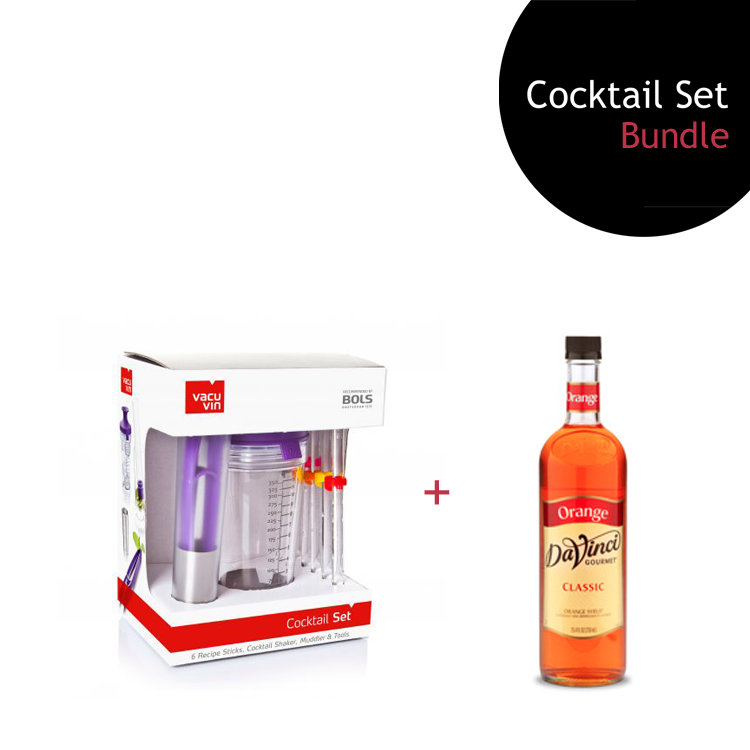 [Bundle] Cocktail Set + Orange Syrup by ECIATTO GROUP SDN BHD