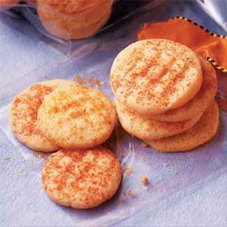 Orange Cornmeal Crisps (Gluten-Free Recipe)