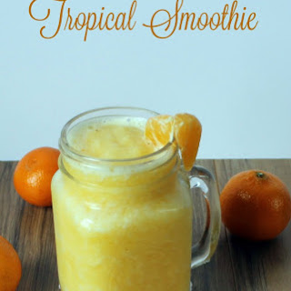 Fresh Fruit Tropical Smoothie