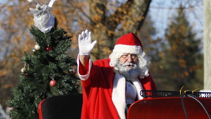 Papá Noel recorrerá las calles de Adra. Imagen de QueenCarolyn en Pixabay.