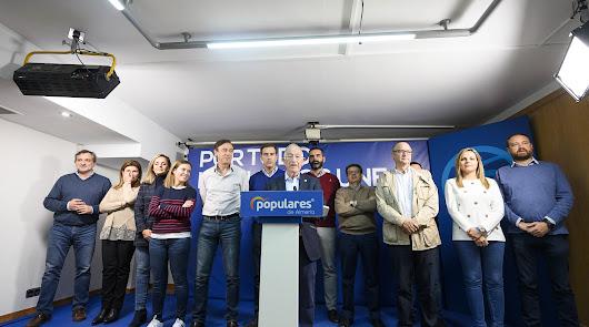 El PP retrocede hasta ser tercero pero celebra su victoria en el Senado