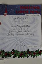 Photo: Karácsonyi menüválaszték
