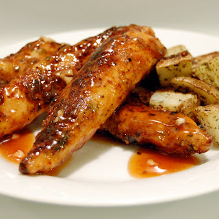 Honey Barbecue Glazed Chicken Recipe